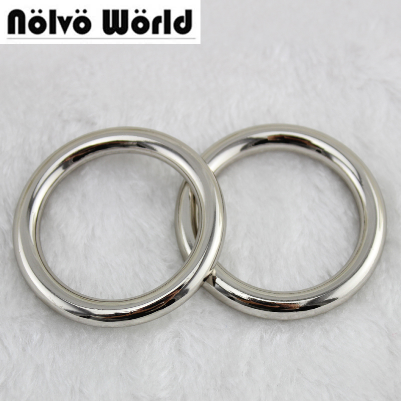 Outside 50mm Big Rings,die casting 6.0mm line 1-1/2 inch pet's strap o ring,bags' accessories metal zinc alloy welded ring o 10pcs lot 9x5x2 mm o rings rubber sealing o ring 9mm od x 2mm cs