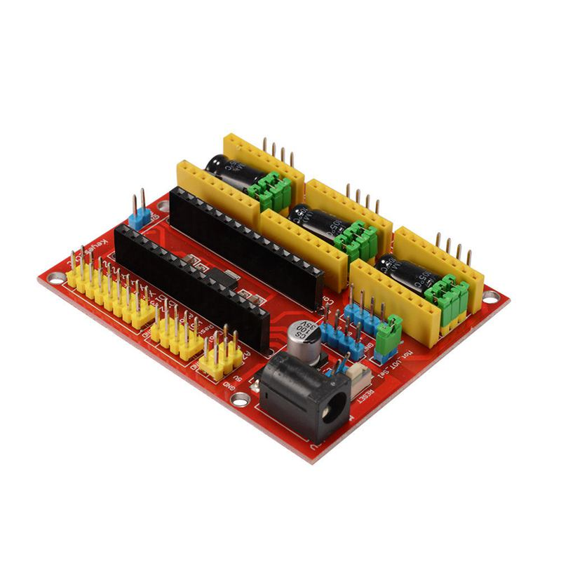 Image 5 - CNC Shield V4 Expansion Board Nano 3.0 Stepper A4988 Driver for Arduino 3D Printer TE732-in 3D Printer Parts & Accessories from Computer & Office