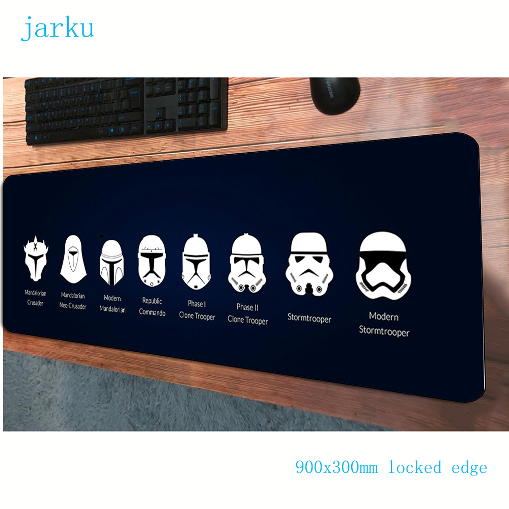900x300x2mm Star Wars Pad Mouse Gaming Mousepad Gamer Mouse Mat HD Pattern Pads Game Computer Padmouse Laptop Play Mat