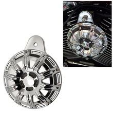 Chromed Motorcycle Accessories Horn Moto Slot Loud Speaker For Harley 91-up Big Twin Cam Sportster XL 07-up