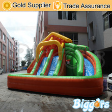 Inflatable Biggors Commercial Grade Inflatable Pool Slide For Kids And Adults