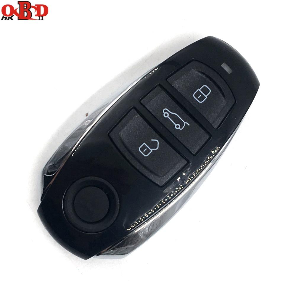 HKOBDII nouvelle clé de voiture à distance 3 boutons 434 MHZ pour Volkswagen VW Touareg carte à puce