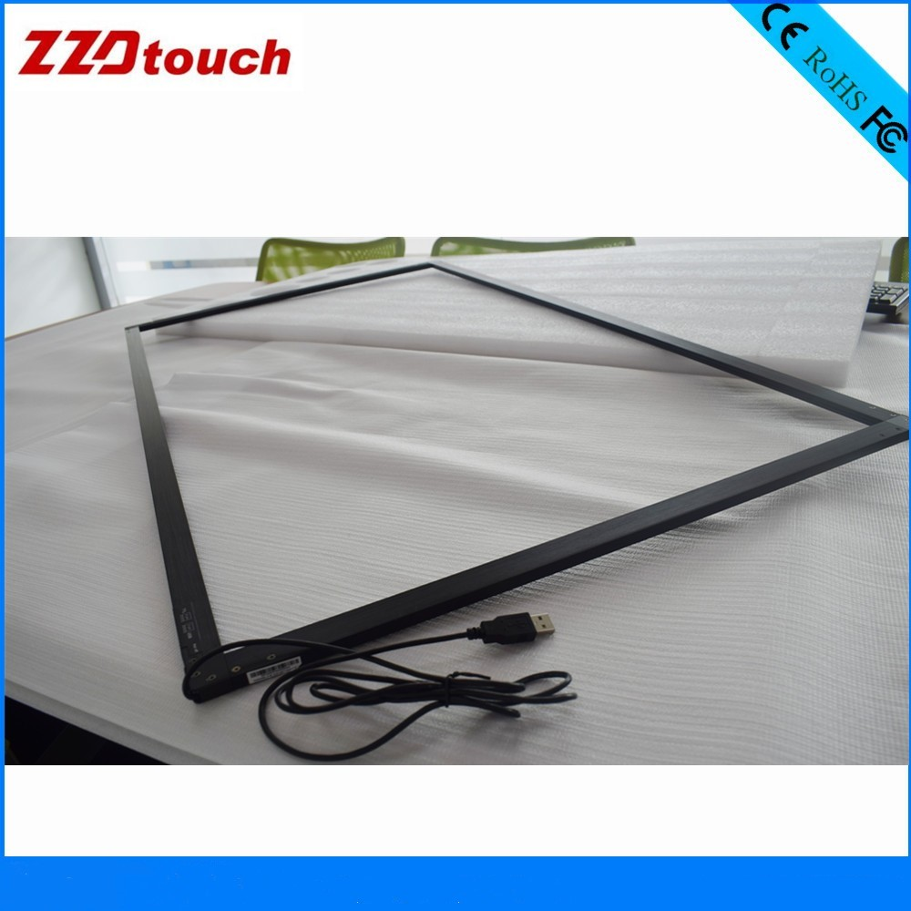 ZZDTOUCH 47 inch infrared touch frame ir touch screen monitor sensor kit 10 points multi touch shenzhen factory