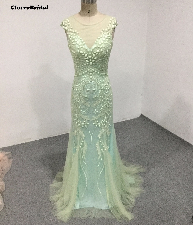 Luxv estidos de festa vestido longo para casamento 2017 роскошное зеленое прямое вечернее платье для девочек