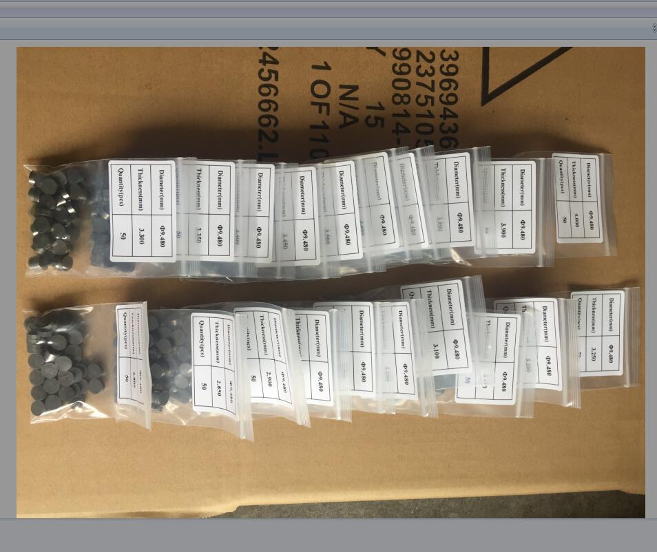 47 шт. моторный Запчасти регулируемый клапан прокладки-шайбы 9,48 мм для Suzuki DRZ400 DR-Z400 E S SM