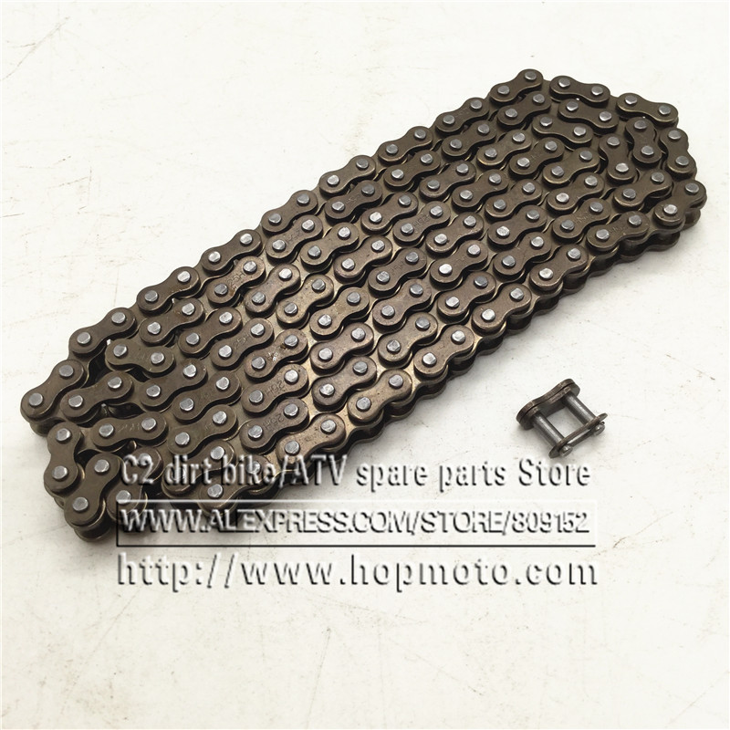 25H chain with Spare Master Link 47cc 49cc 2 Stroke Engine ATV Quad Go Kart Dirt Pocket Mini Motor Bike Motorcycle section144 116 460mm t8f chain links with spare master link for 47cc 49cc 2 stroke dirt pocket mini moto cross bike atv quad go kart