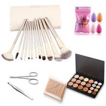 Thinkboo Высокое качество 12 шт./компл. набор кистей для макияжа наборы теней для век Косметические кисти макияж инструменты с элегантная коробка для красоты