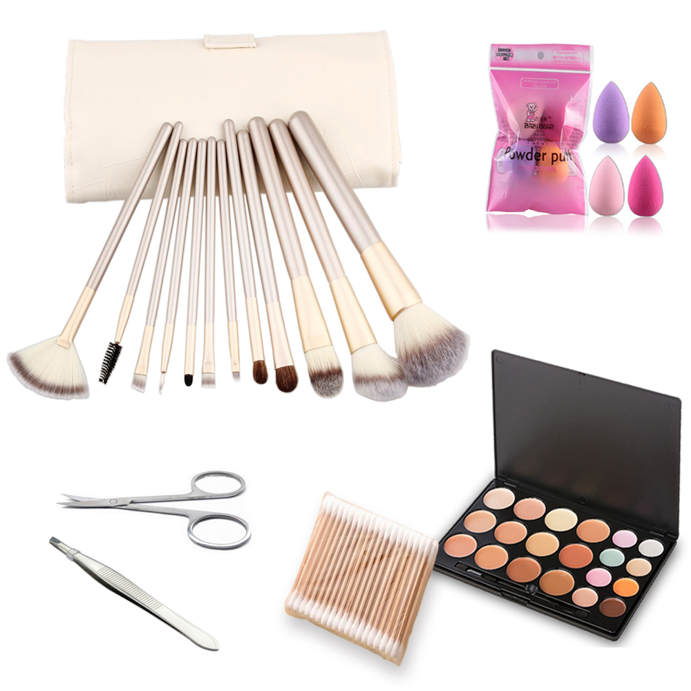 Thinkboo Top Quality 12Pcs/set Makeup Brush kit Sets for eyeshadow Cosmetic Brushes Makeup Tools with elegant box For Beauty