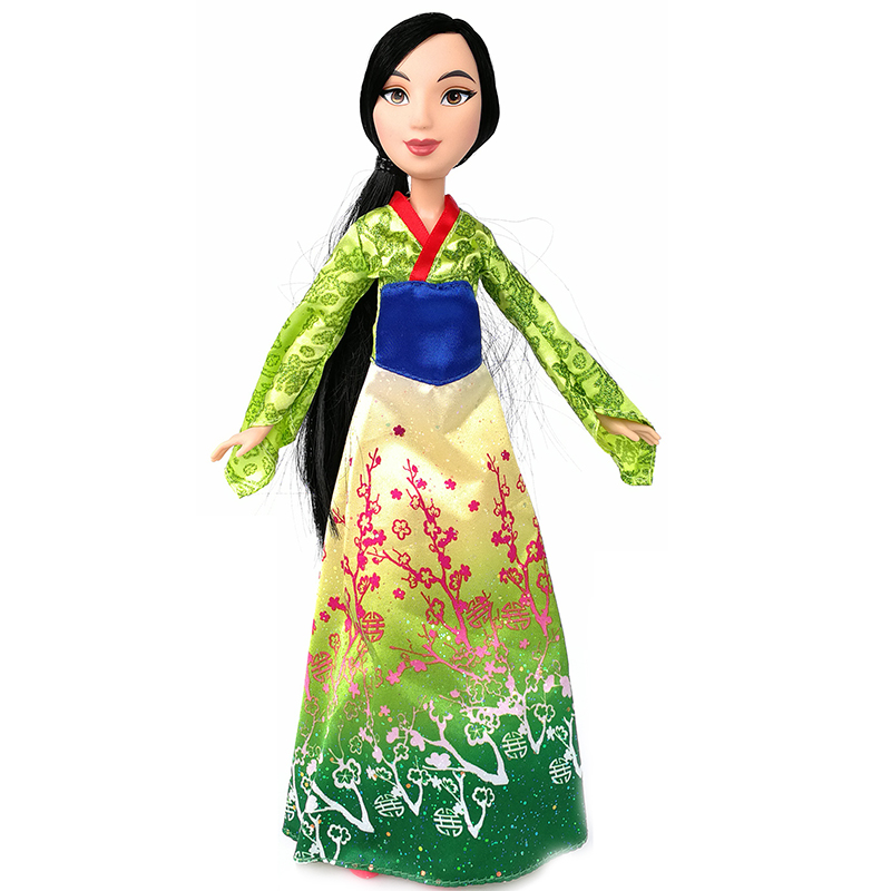 Genuine 30cm Princess Mulan Doll Action Figure Classic