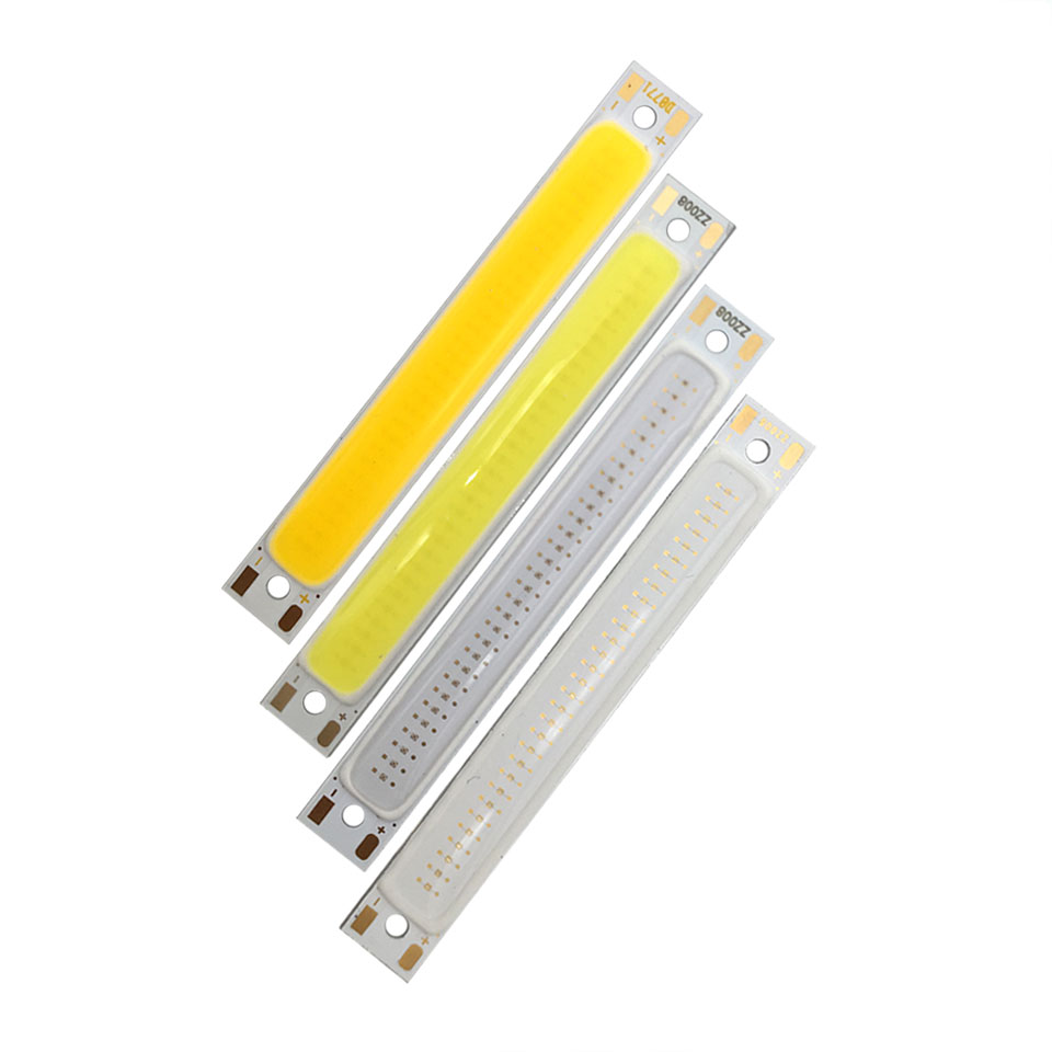 Buy 10pcs Lot 608mm Dc 3v 4v Cob Led Bulb Strip Circuit With Light And Battery Source Powered Lighting White Blue Red Diy Bicycle Work Lights From