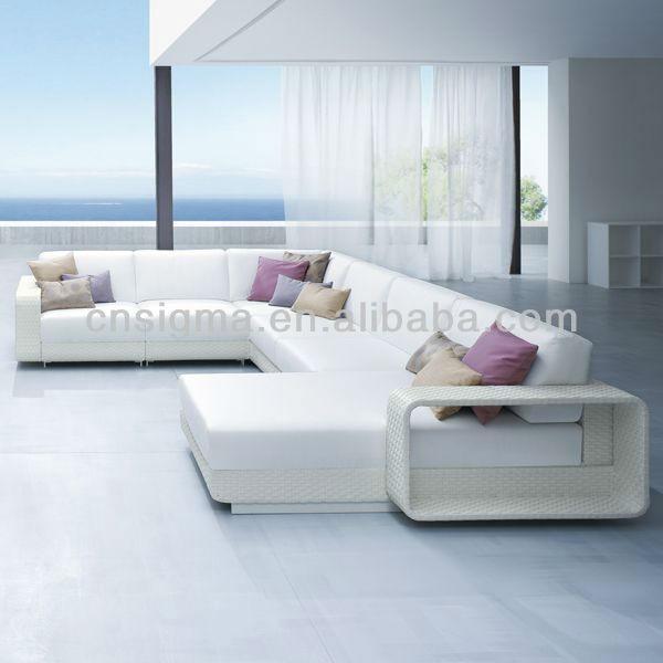 white rattan outdoor sofa fatboy inflatable 2014 modern balconies designer furniture ...