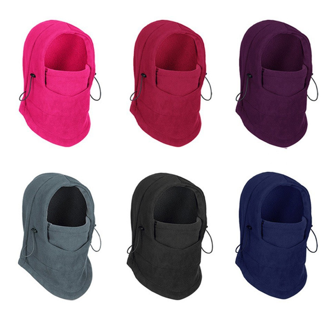 Winter Warm Fleece Hats For Bandana Neck Warmer Balaclava Snowboard Face Mask, Special Forces Mask Thicker Caps