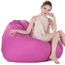 Adult Children Lazy Bean Bag Sofas Removable Living Room Bean Bag Sofas Living Room Lounger Bean Bag Chairs Bedroom Leisure Sofa(China)