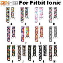 цена на Bracelet Strap For Fitbit Ionic Smart Watch Band Strap Soft Watchband For Fitbit Ionic Wristband Replacement Smartwatch Bands