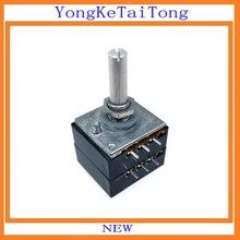 2PCS/LOT ALPS27 50K 50KAX2 27  DIP6 Rotary Potentiometer
