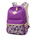 2016 new arrival Elegant women backpack for school teenager girls leopard printed canvas ladies bag backpacks female daily mochi