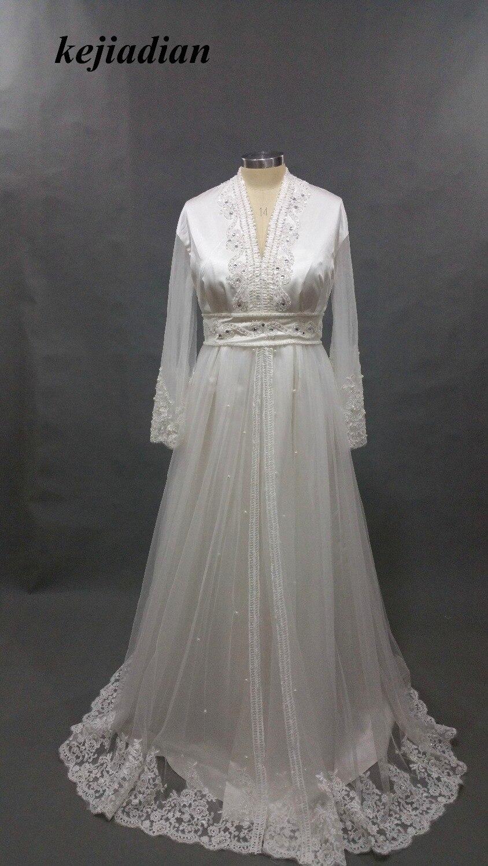 High Quality Embroidery Appliques Beaded Sash Dubai Bridal Dress 2017 Indian Saree