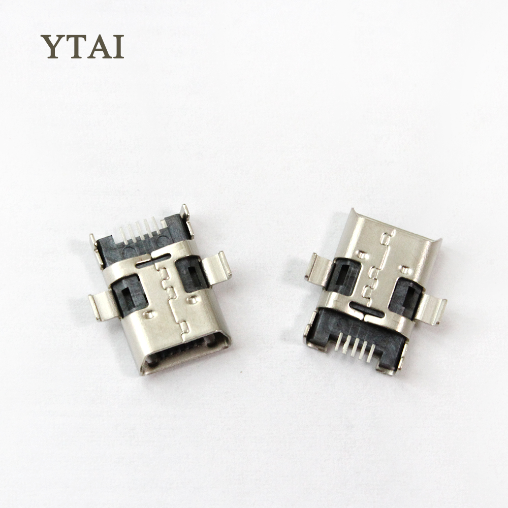 YTAI Micro mini USB DC Charging Socket jack connector Port for ASUS ZenPad 10 Z300C P023 ME103 ME103K plug-in data interface 2pcs original mini micro usb charging port power jack for samsung galaxy s3 i9300 i9305 usb connector micro usb socket 11pin