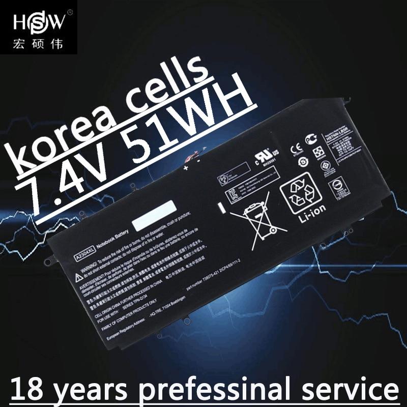 HSW batterie d'ordinateur portable pour batterie HP 7.5 V 6750A 738392-005 A2304XL HSTNN-LB5R CHROMEBOOK 14-Q dans les ordinateurs/tablettes batterie