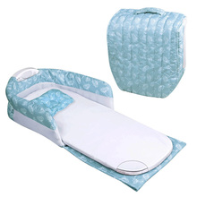 New Portable Infant Kids Baby Separated Bed with Light Music Multi-function Helping BB Sleep Travel Bag Nest Crib
