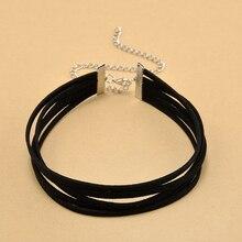 Black Velvet Choker Necklace