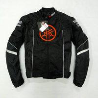 Summer mesh Motorcycle jackets Moto Racing Windproof Jackets fit for Yamaha motor With 5pcs Protector Men Jacket Chaqueta Black