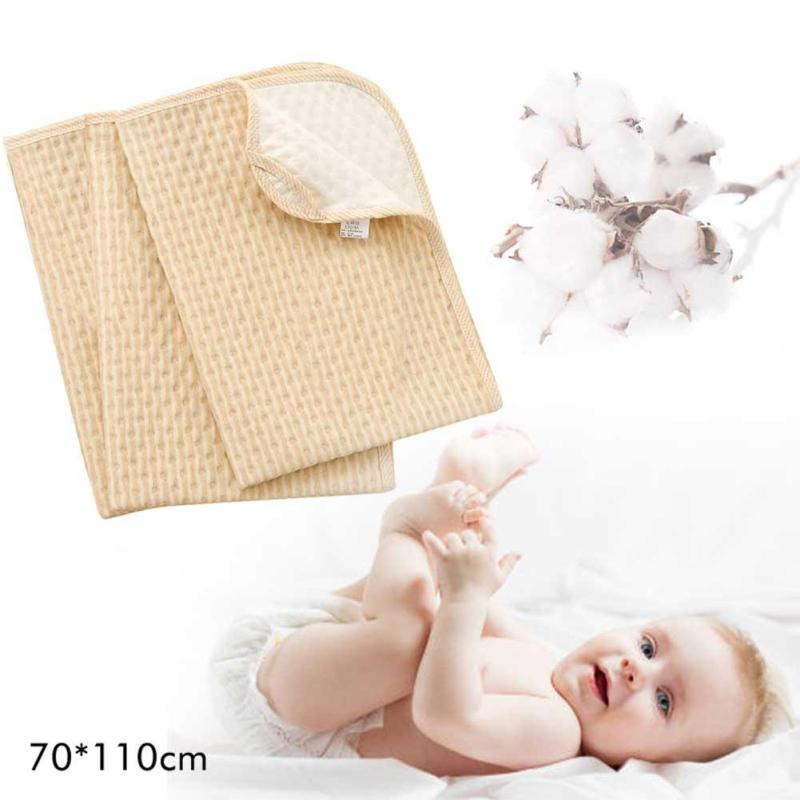 Colored cotton Baby Changing Pads Reusable 3 Layers Newborn Infant Cover Bedding Nappy Burp Mattress Waterproof