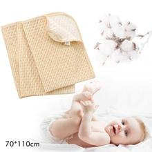 Colored cotton Baby Changing Pads Reusable 3 Layers Newborn Infant Cover Bedding Nappy Burp Mattress Waterproof Changing Mat R4