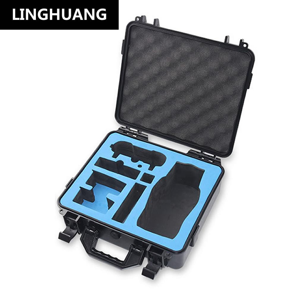 цена New DJI Mavic 2 Safety Box Plastic Waterproof Carrying Case Drone Accessories Protection Storage Suitcase For MAVIC2 Quadcopter