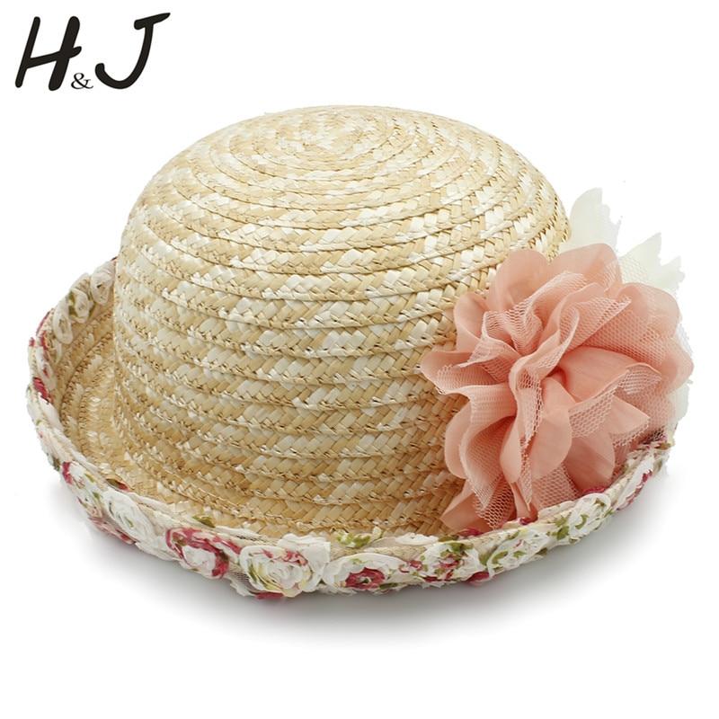 100% Weizen Stroh Sommer Frauen Strand Sonne Hut Für Elegante Dame Dome Runde Bowler Hut Größe 57 Cm