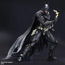 PLAY ARTS Kai Batman Arkham Series 27 cm Batman Arkham Knight Anime Toys