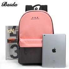 Escola de moda mochila mulheres crianças mochila back pack de lazer coreano senhoras mochila de viagem laptop sacos para adolescentes meninas(China (Mainland))