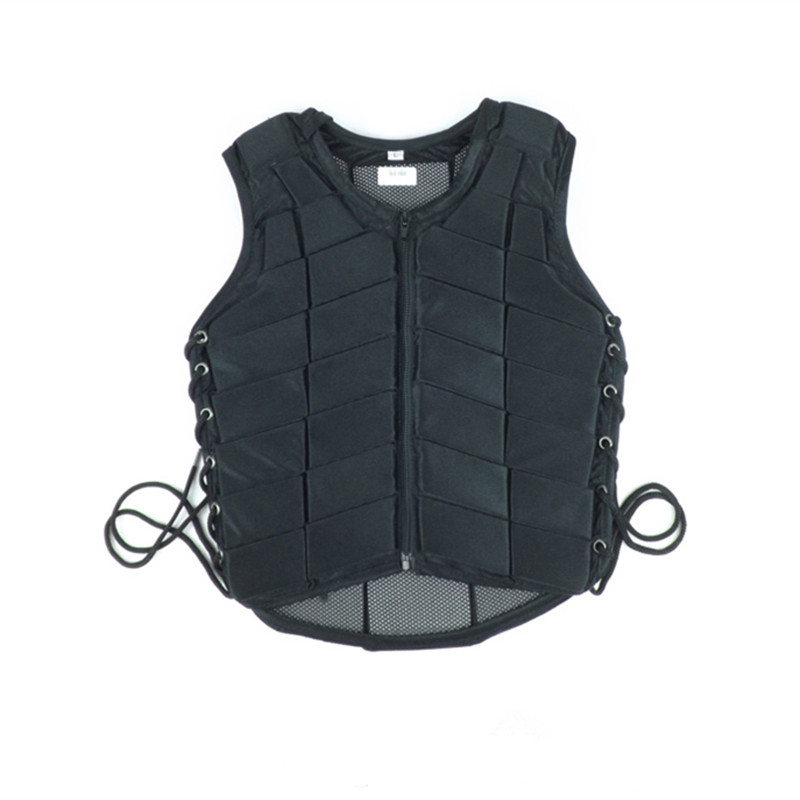 Horse Racing Equipment Paardensport Cheval Adult Black Safety Equestrian Horse Riding Vest Protective Body Protector JACKET F $ adjustable pro safety equestrian horse riding vest eva padded body protector s m l xl xxl for men kids women camping hiking