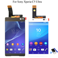 For Sony Xperia C5 Ultra E5506 E5533 E5563 E5553 LCD Display + Touch Screen with Digitizer Assembly + Tools, Free shipping