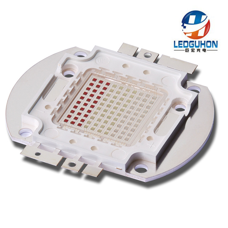 100W RGB integrated light source stage light with colorful light macro 40mil package COB LED light beads 3w led chip