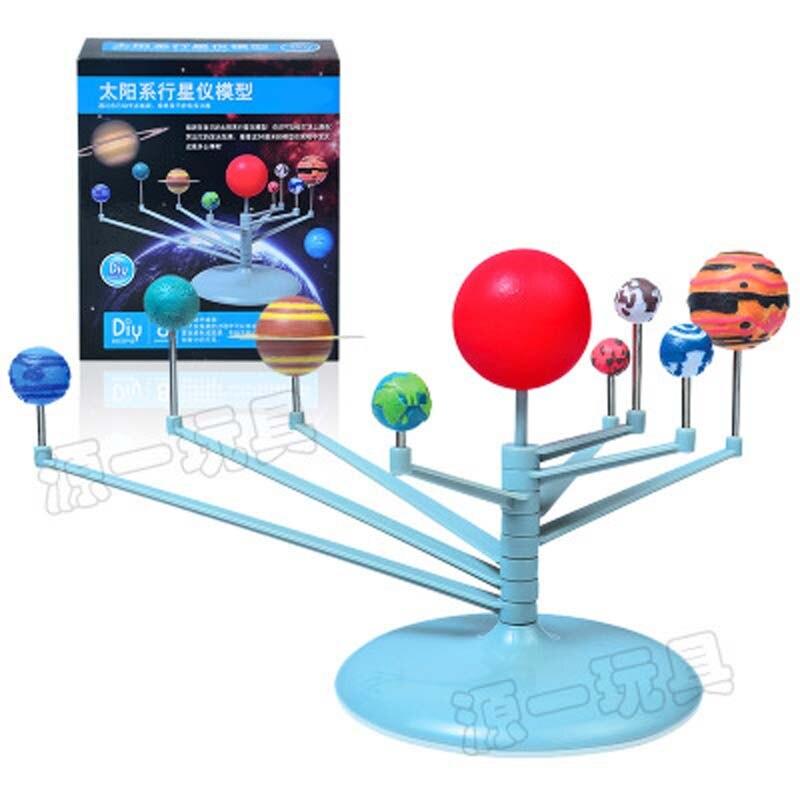 Juguetes para niños juguete de los niños establece nueve planetario ...