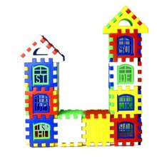 Kids Model Kit Assembling House Toys for Children Baby Educational Learning Puzzle Boys Girls Preschool Supply Birthday Surprise(China)