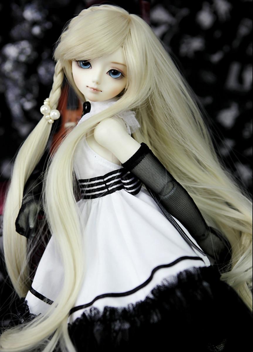 AQK(AQK) 1 /4 A quarter of children DARAE BJD doll, lovely girl BJD doll (free send a pair of eyes) Free eyes