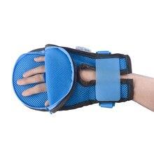 Guantes de seguridad para personas con discapacidad, protectores de manos, dispositivos de seguridad Personal, manoplas de Control de los dedos, 1 par