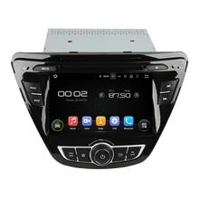 for hyundai Elantra 2014 7″ 7.1.1 system HD 1024*600 car dvd player gps navigation radio 3G wifi bluetooth dvr free map camera
