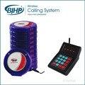 1 Unidades Azul Recargable Impermeable Club de Paginación Del Sistema de Llamada Tabla de Autoservicio