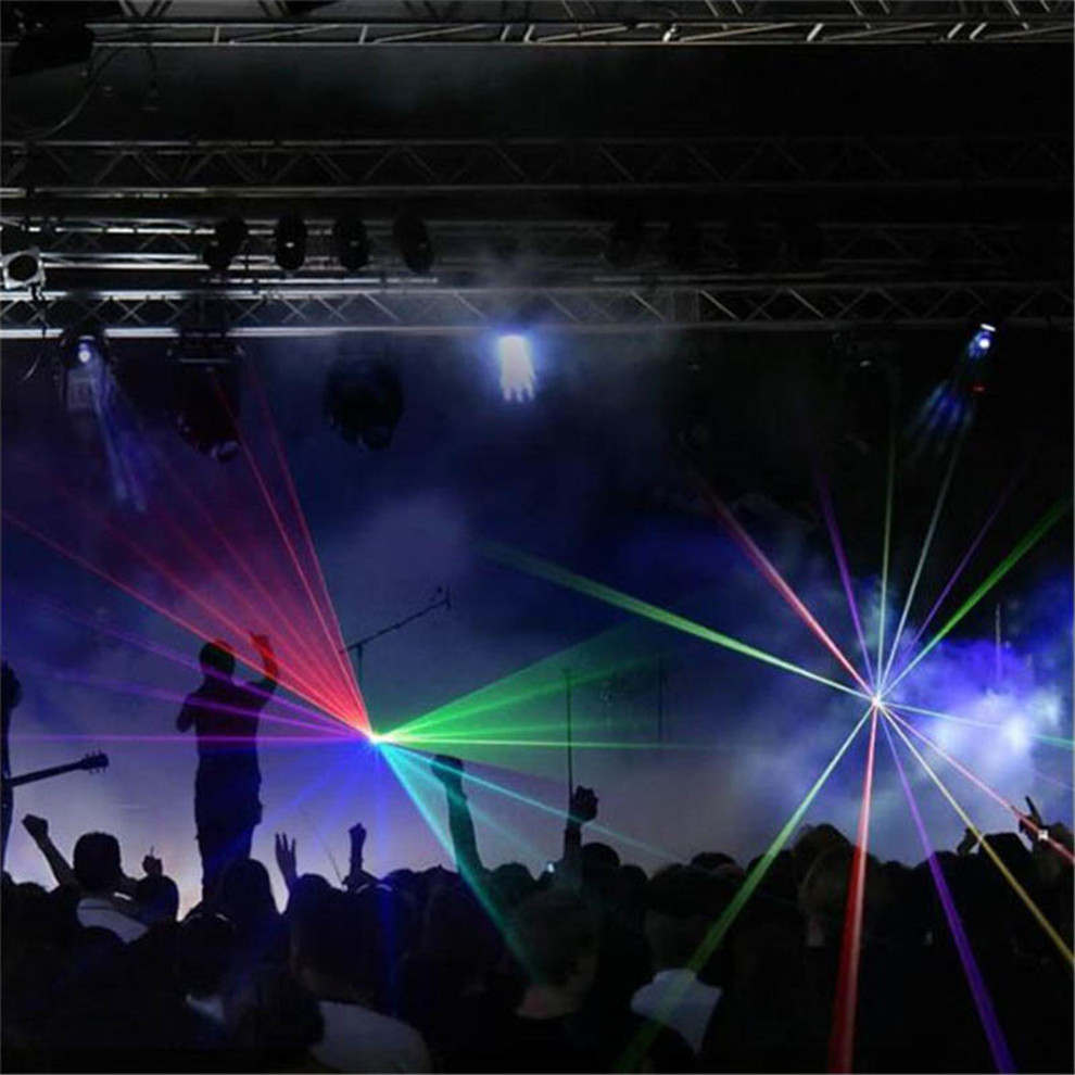 Image 5 - ALIEN Mini Led Rgb Home Stage Lighting Effect DMX Laser Projector With Remote Lumiere Disco Lights Dj Party Stage Light For Sale-in Stage Lighting Effect from Lights & Lighting