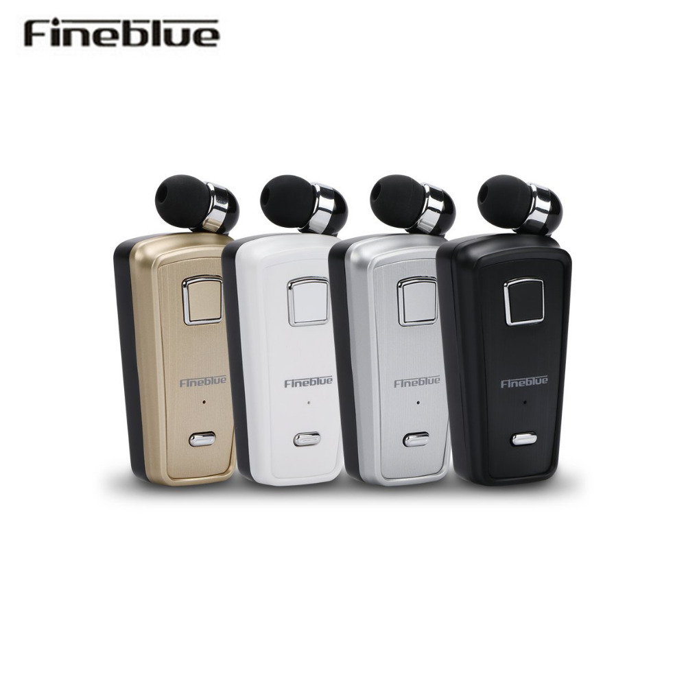 Fineblue F980 Wireless business Bluetooth Earphone Sport Driver Auriculares Telescopic Clip Headset Remind Vibration 2018 new sale fineblue f980 wireless in ear handsfree with microphone headset mini bluetooth earphone