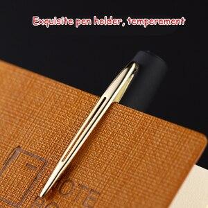 Image 4 - Оригинальная ручка Baoke с гелевыми чернилами 0,5 мм/0,7 мм/1,0 мм 12 шт. матовая нейтральная ручка большой емкости для школы и офиса
