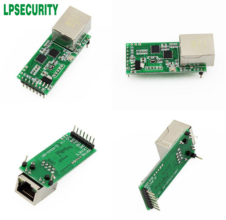 5pcs lot USR TCP232 T2 TCP IP to TTL Module for PLC MCU UART to Ethernet