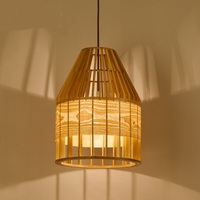 Nordic lounge bar restaurant wood wooden cage American country wooden bedroom Pendant Lights LO71920