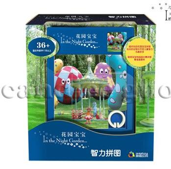 Игрушек! Совершенно новая пластиковая игрушка классная в ночном саду серия образовательные головоломки для детей игрушка подарок 1 шт - Цвет: style 5
