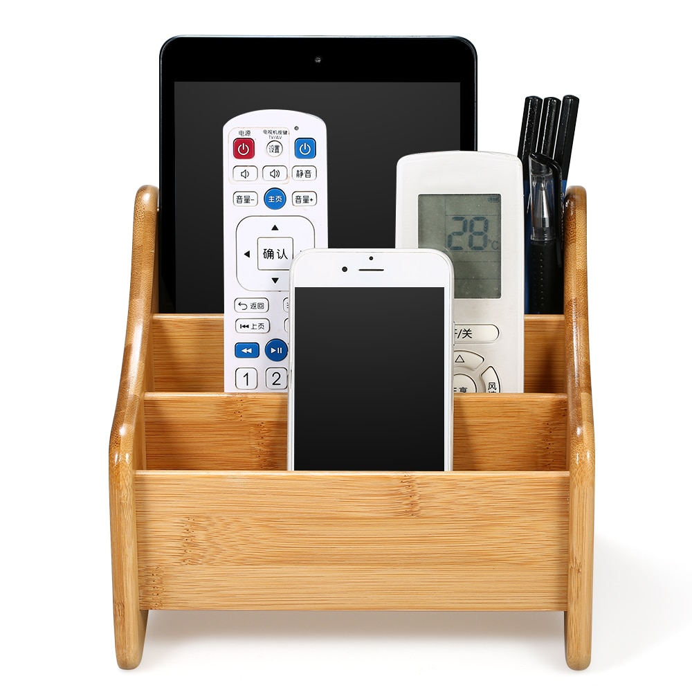 Remote Control Storage Box Organizer Stationery Holder Storage Rack Cosmetic Makeup Storage Organizer for Office Home