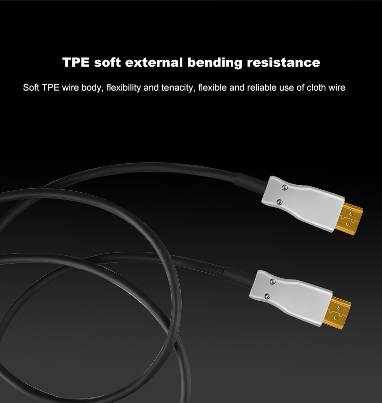 13HDMI 2.0 Cable Active Optical Cable Long Transmission Lossless 4K 60Hz for HD TV Projector PS4 20m 30m 50M 10M Fiber Optic HDMI