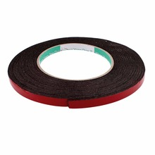 UXCELL Red 5M Length Sponge Foam Rubber Strip Neoprene Tape Double Sided Sponge Tape Adhesive Sticker Foam Glue Strip Sealing 10pcs 10m long 20mm x1mm dual sided sponge tape adhesive sticker foam glue strip